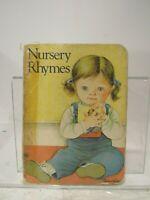 Nursery Rhymes by Eloise Wilkin book girl as is Random House illustrations