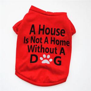 Boy Dog Clothes Girl Pet T Shirt, Dog Clothing, Size XSmall to Medium Puppy Cat