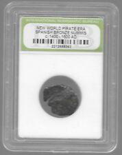 Rare Old Ancient Spanish Pirate Caribbean War Era Nice Collection Coin LOT:US-40