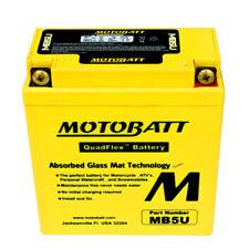 Motobatt MB5U Motocicleta Batería completamente sellada de actualización sustituye CB5LB 12N5-3B