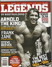 MuscleMag Legends #1 Bodybuilding Magazine Arnold Schwarzenegger 2010