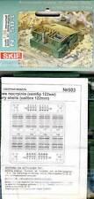 Skif 16 Munitionskisten mit Munition 122mm D-30/2S1 Ammunition artillery 1:35