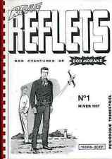 revue REFLETS 1 1987 BOB MORANE Henri VERNES fanzine Free EXLIBRIS Gratuit