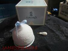Lladro Winter Bell Ornament In Box As Is