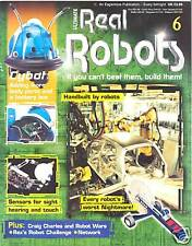 Ultimate Real Robots Magazine No.6 - Handbuilt by Robots