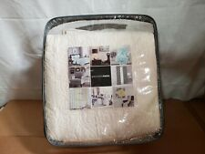 Madison Park Solid Ivory Quilted Bedspread Set AND Decorative Pillow Shams, King