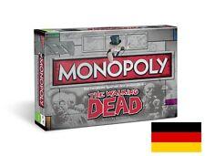 Monopoly The Walking Dead Survival Edición Juego de mesa juego de mesa NUEVO