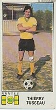 N°184 THIERRY TUSSEAU # FC.NANTES STICKER PANINI FOOTBALL 1977