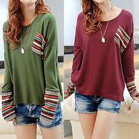 Plus Size Women Shirt Loose Casual Shirts Long Sleeve Shirt Autumn Ladies Blouse