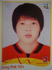 Panini 200 choe Yong sim corea DPR FIFA Women's WM 2011 Germany