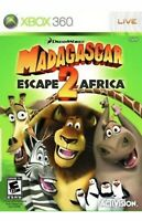 Madagascar: Escape 2 Africa Xbox 360 Kids Game Rare Collectible