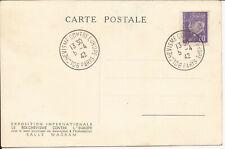 AMN. CARTE EXPOSITION LE BOLCHEVISME CONTRE L'EUROPE PARIS 1942