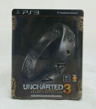 Uncharted 3 Asian English Steel Book PS3 Complete in Box North American Seller