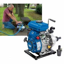 """Draper 1"""" Petrol water pump with fittings  87680 Includes Hose Fittings & Filter"""