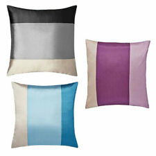 """Rio Faux Silk Luxury Patterned Cushions (18x18"""") - 4 PACK FILLED CUSHIONS"""