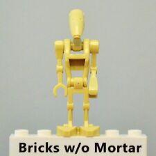 New Genuine LEGO Tan Battle Droid Minifig Star Wars 75080 75086