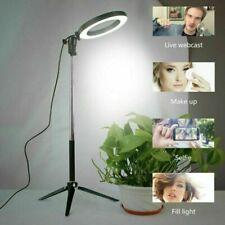 Anillo de luz LED Studio Foto Video Regulable maquillaje de la lámpara con Soporte Trípode Selfie