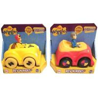 The Wiggles Rev'N Rides 2-Pack Musical Car Red Yellow Soft Durable Toy TCG CHOP