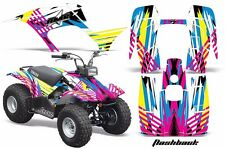 Atv Kit Graphique Quad Autocollant pour Yamaha Breeze 125 89-04 de Flashback