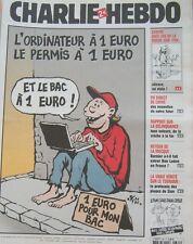 CHARLIE HEBDO N° 661 FEVRIER 2005 RISS  ETUDES JEUNES LE BAC A 1 EUROS