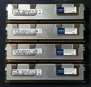 ADDON RAM Memory 32GB kit (4x8GB modules) PC3L-10600R AM1333D3DRLPR/8G REG ECC