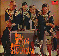 lp 33 The Spotnicks ‎– The Spotnicks In Stockholm Polydor ‎46 437 germany 1964