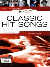 Really Easy Piano Playalong Classic Hit Songs Music Book/Audio SAME DAY DISPATCH