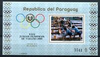 Paraguay 1979 Olympiade Olympics Moskau 1980 Block 346 Postfrisch MNH