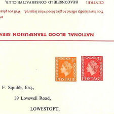 AD146 c1965 GB POSTAL STATIONERY Complete *NBTS* Reply Card Scarce