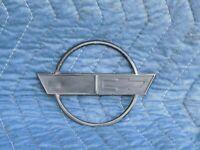 Gas Fuel Door Lid Emblem w/ Nuts OEM 1989 C4 Corvette