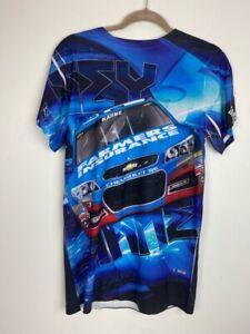 Kasey Kahne Unisex Adult Chase Authentics T-Shirt Blue Sublimation Print S NEW