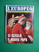 L'Européen 1963 Soraya Esfandiar Bakhtiari Marlon Brando Conclave Eglise Pape