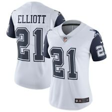EZEKIEL ELLIOTT NIKE DALLAS COWBOYS WOMENS VAPOR COLOR RUSH LIMITED JERSEY $150