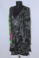 Desigual 16V2831 womens dress Size XL
