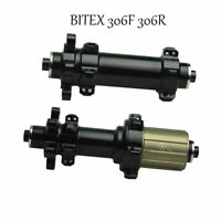 Bitex 306F/306R straight pull disc brake road bike hubs