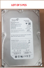 "Lot of 5: Seagate Barracuda ES 3.5"" SATA 750GB ST3750641NS 7.2K 7200 Hard Drive"