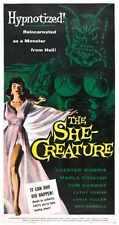 She Creature Poster 03 Metal Sign A4 12x8 Aluminium
