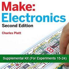 Make Electronics Supplemental Experiments 15-24 Parts Kit for Stem Classes