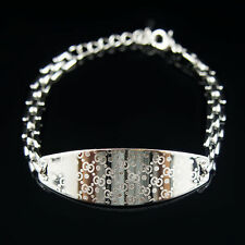 18k white Gold plated high class crystals bangle bracelet with Swarovski element
