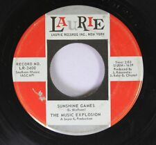 Rock 45 The Music Explosion - Sunshine Games / Can'T Stop Now On Laurie Records