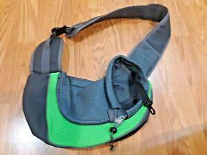 Popcorn Pet Dog Sling Carrier Breathable Mesh Travel Safe Sling Bag Carrier Dog