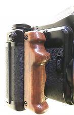 New-Wood-Poignée bois Merisier Pentax 67 6x7 Hand Grip-handmade Cherry Wood tint