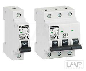 Leitungsschutzschalter LS-Schalter Sicherungsautomat 10A bis 32A 1-polig 3-polig