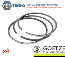 4x GOETZE ENGINE ENGINE PISTON RING SET 08-306907-00 I 0.5MM NEW OE REPLACEMENT
