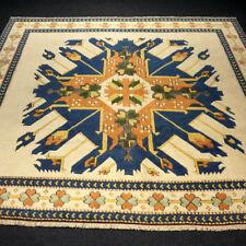 Türkischer Orient Teppich 246 x 217 cm Milas Melas Kars Adler Schirwan Carpet