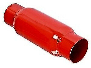 "US Cherry Glasspack Exhaust Bomb 8"" Body Length - 3"" ID"