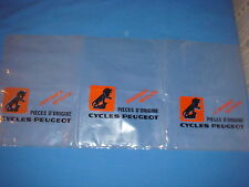 LOT DE 3 ANCIEN SACHET CYCLES PEUGEOT PIECES D'ORIGINE velo collection vintage