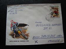 HONGRIE - enveloppe 1993 (cy72) hungary