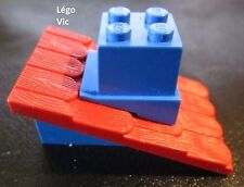 Red rouge Roof Slope jaune yellow F18 Lego Fabuland 787 x4 Tuile Roof Support