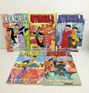 Invincible TPB lot run Vol #1 - #9  Kirkman - Image 2021 Amazon Series